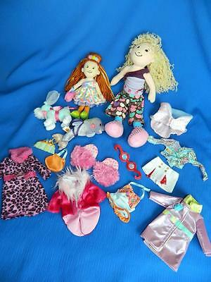 Lot Groovy Girls Dolls 15 pc Dolphin Wedding Puppy Dog Clothing Clothes ~ SWEET!