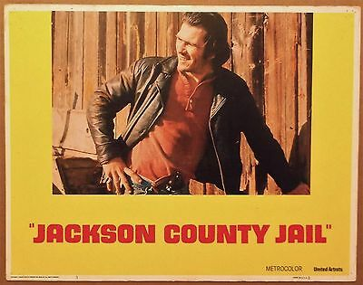 JACKSON COUNTY JAIL 1976 Lobby Card/Poster ~ TOMMY LEE JONES