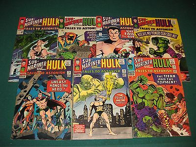 Tales To Astonish Comic Book  Lot 71 73 74 75 76 78 79  Silver Age