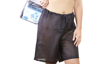 ✅ Super Soft Women's Disposable Boxer Short Briefs (5 pack) ONE-SIZE - Hospital