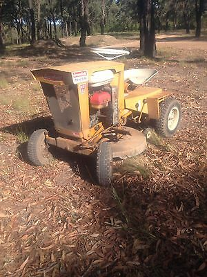 Greenfield Antique Ride On Lawnmower Tractor Honda 8Hp Yard Art
