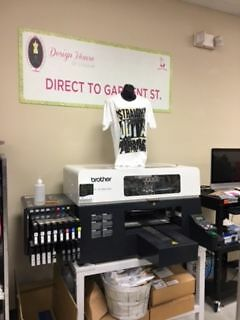 Embellishment Machine Package:  DTG Printer, Embroidery, Rhinestone and Spangle