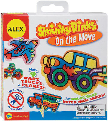 Shrinky Dinks Kit-On The Move