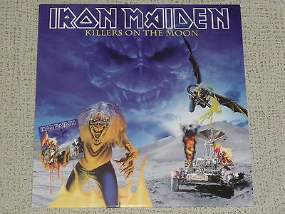Iron Maiden Killers On The Moon - Mega Rare Lp Live In Barcelona, Spain