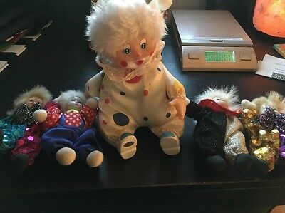 Vintage Clown Doll Collection