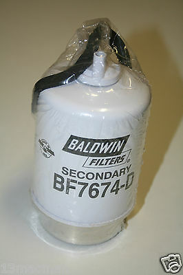 Baldwin Fuel Filter BF7674-D cross references RE509031