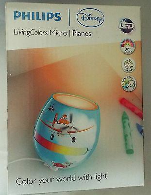 Philips Livingcolors micro -DISNEY PLANES 64 LED colour choice kids night light