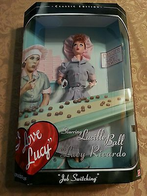 """I Love Lucy """"Job Switching"""" Candy Factory Barbie"""