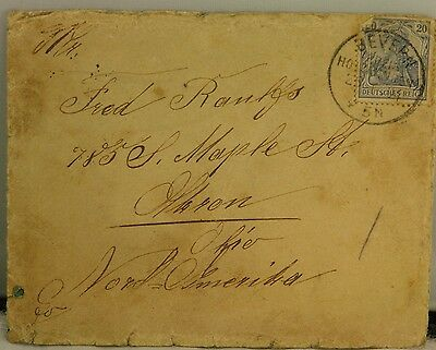 Paper, Ephemera, Collection of Early 1900's Letters, Correspondence from Germany