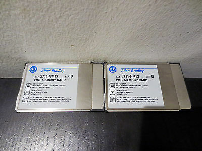 Allen Bradley AB 2711-NM13 /B  PanelView Flash Memory Card, PCMCIA II, 2MB