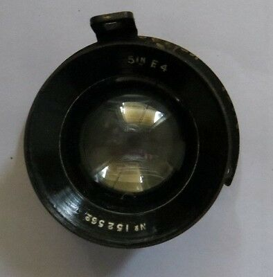 Vintage Rare A M Air Ministry England 5In F.4 14A/1101 Lens