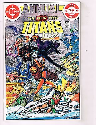 Lot Of 3 New Teen Titans DC Comic Books # 21 61 + Annual # 1 NM Copies HJ1