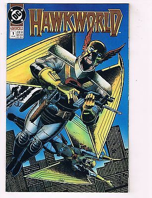 Lot Of 7 Hawkworld DC Comic Books # 1 2 3 4 5 6 7 Hawkman Batman Flash Atom HJ2