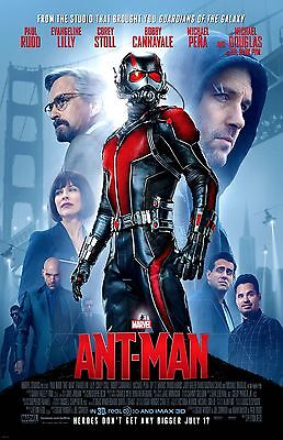 ANTMAN COLLAGE 11x17 Movie Poster collectible