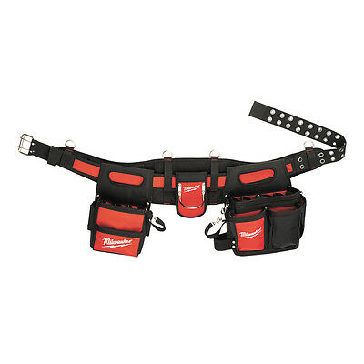 Milwaukee ELECTRICIAN'S TOOL BELT 29 Pockets, Puncture Resistant *USA Brand
