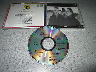 U2 The Joshua Tree Mexican Made In Mexico Cd Album First Edition Polygram