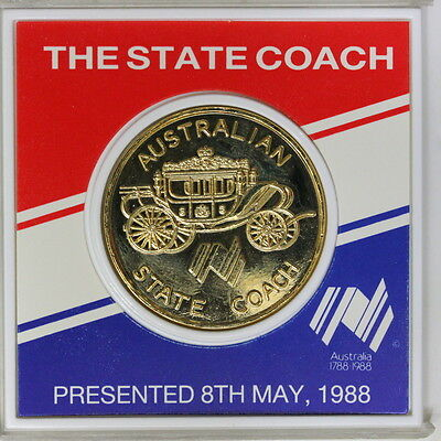 Australia's 1988 The state coach Medal  (SC7/C1)