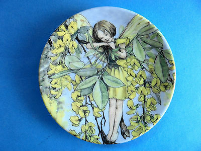 Laburnum  Fairy Plate  Cecily Mary Barker Flower Faires Royal Worcester