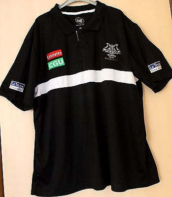 2017 Collingwood Magpies Afl Member's Polo 3Xl - Brand New - 2017