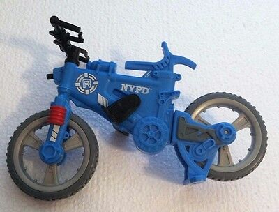 Fisher Price Rescue Heroes NYPD Bike/Bicycle FREE SHIPPING