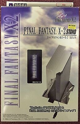 RARE Final Fantasy X-2 Official Licensed Vertical Stand PS2 PlayStation 2 HORI