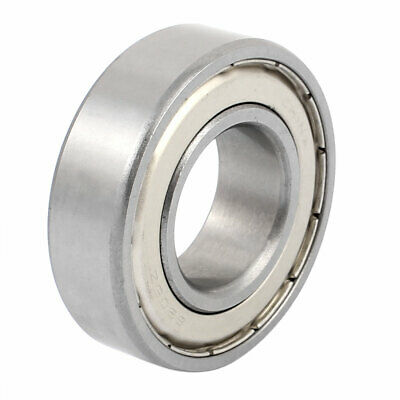 6205Z Double Shielded Deep Groove Ball Bearing Silver Tone 52mmx25mmx15mm