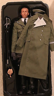 did action figure ww11 new german officer 1/6 12'' boxed dragon cyber hot toy