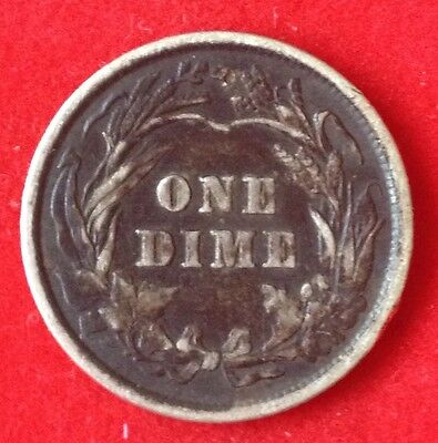 1900 USA US United States America Barber Dime Coin