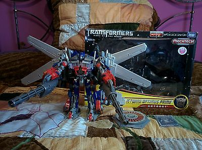 Transformers Jetwing Optimus Prime Takara Dark Of The Moon Leader Like New