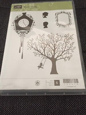 Stampin Up - Forever Young - Clear Mount  Stamp Set