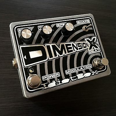 Idiotbox Effects - Dimension X Delay & Modulation Pedal. Brand New!
