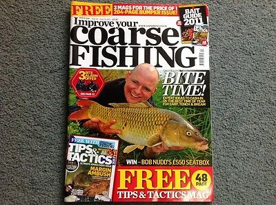 Improve your coarse fishing  magazine issue 246 May-June 2011