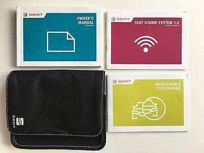 Seat Alhambra Owners Manual Handbook Pack With Wallet +Service 2012-2016 Ref4120