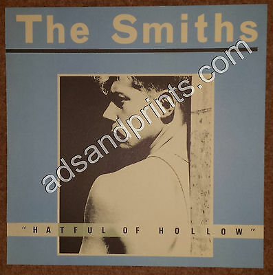 "The Smiths ""Hatful of Hollow"" Album Sleeve Artwork Full Size Colour Art Print"