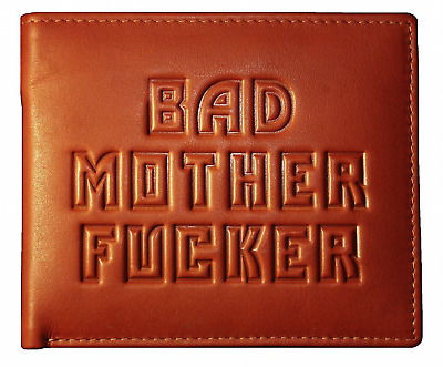 Bad Mother Fucker wallet in Leather - Black, Tan, Brown