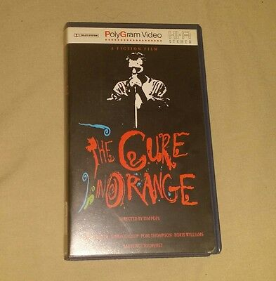 Vhs The Cure In Organge - Directo 1987