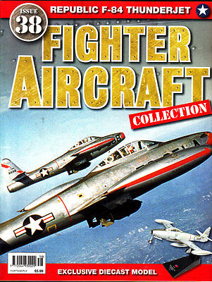 Aviation Magazine, Fighter Aircraft Collection No38, F-84 Thunderjet