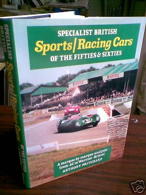 Specialist British Sports Racing Cars 50s & 60's book