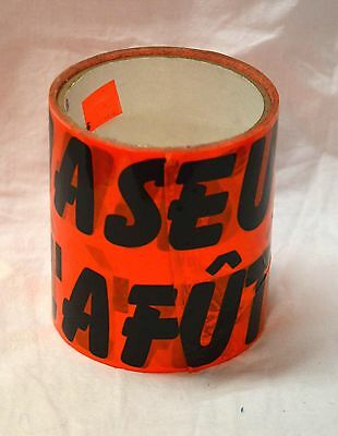 New Orange tape Chasseur a l'affut 4'' x 30' ( storebte#16 )