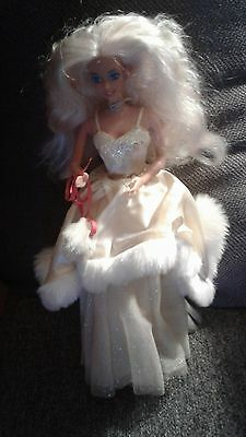 Holiday Barbie-1989-Incomplete-Used