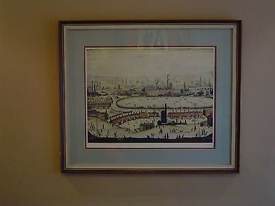 L.s.lowry The Pond Signed Limited Edition Print Northern Art