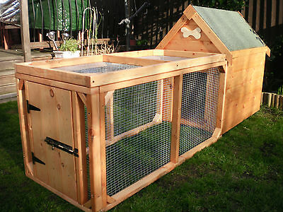 Dog Kennel and Run for Small/Medium Dog - Quality item