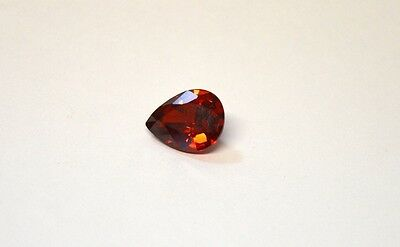 Rare 12.8 Ct Pear Cut Natural Color Change Red- Brown Alexandrite Gemstone