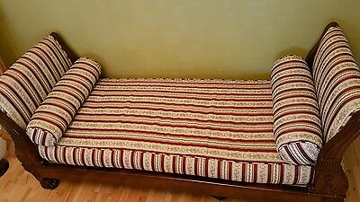 Antique Regency  Sofa Chaise Longue Daybed ca 1825