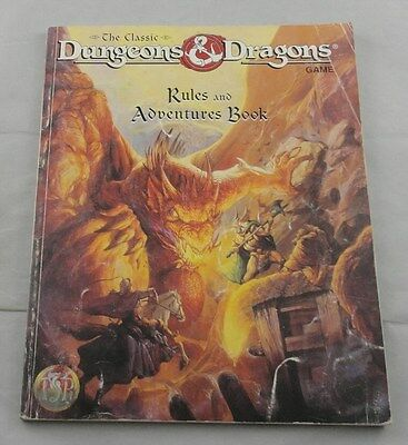 Classic Dungeons & Dragons Rules & Adventures Book TSR1106xxx1901