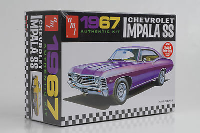 1967 Chevrolet Impala SS Car Kit Bausatz 1:25 AMT 981/12
