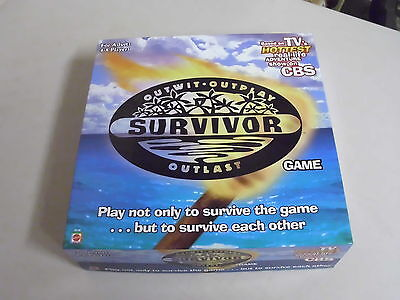 Survivor Board Game Replacement Pieces Only