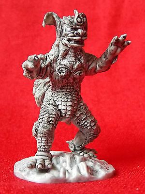 "King Caesar / IWAKURA PVC SOLID Figure 2.8"" 7cm KAIJU MONSTER MINT UK DESPATCH"