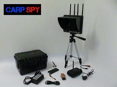 "Carp Spy Bait Boat Underwater Fishing Camera 8"" Rd4 Dvr"