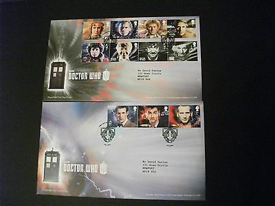 First Day Cover Dr Who 2013